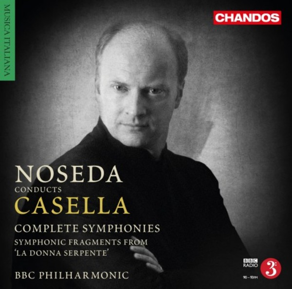 Casella - Complete Symphonies, etc. | Chandos CHAN108952