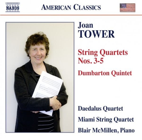 Tower - String Quartets 3-5, Dumbarton Quintet