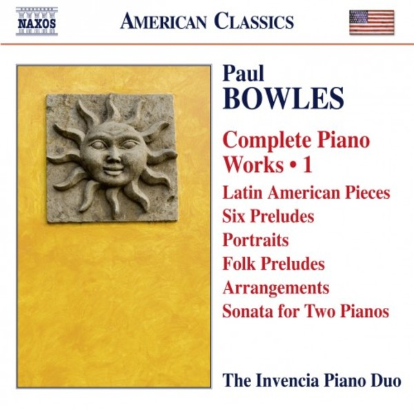 Bowles - Complete Piano Works Vol.1 | Naxos - American Classics 8559786