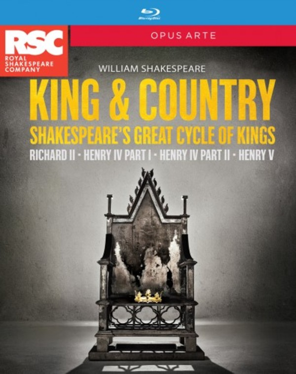 Shakespeare - King & Country Box Set (Blu-ray) | Opus Arte OABD7198BD