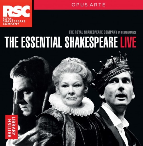 The Essential Shakespeare Live | Opus Arte OACD9042BD