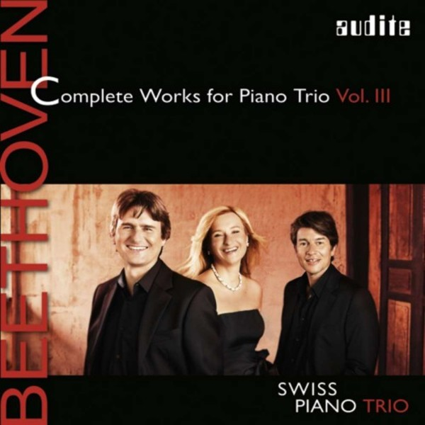 Beethoven - Complete Works for Piano Trio Vol.3 | Audite AUDITE97694