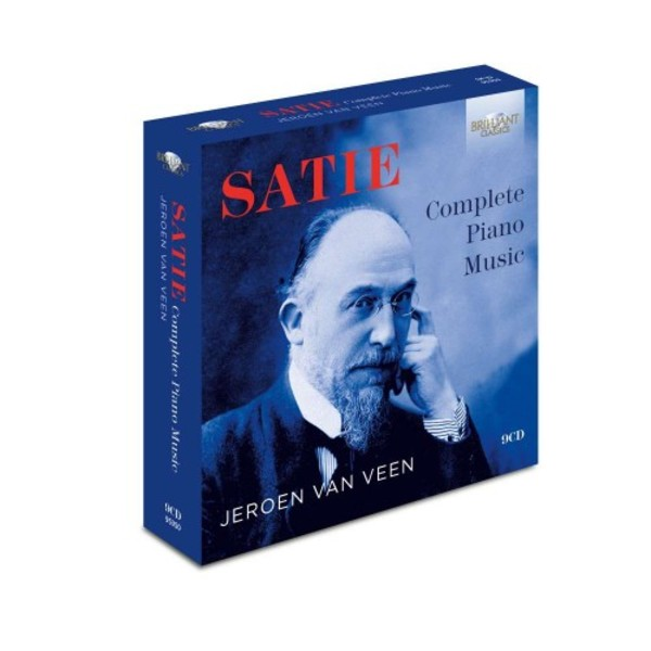 Satie - Complete Piano Music | Brilliant Classics 95350