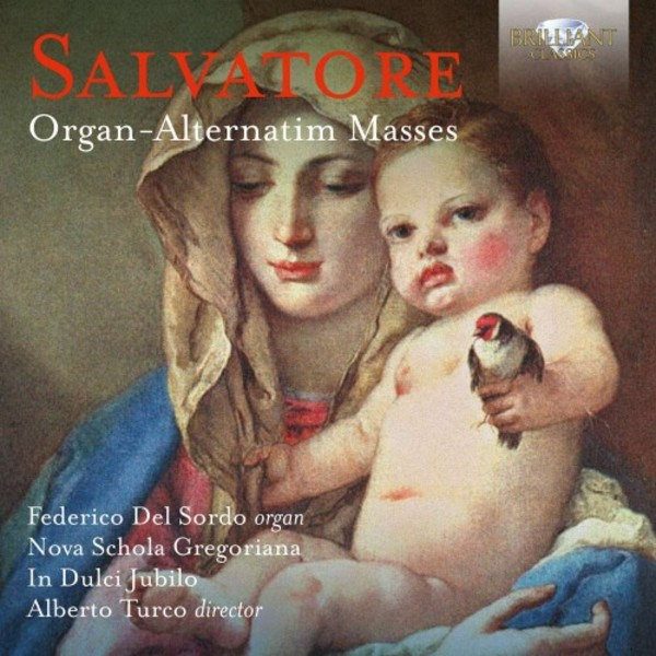 Salvatore - Organ-Alternatim Masses | Brilliant Classics 95146