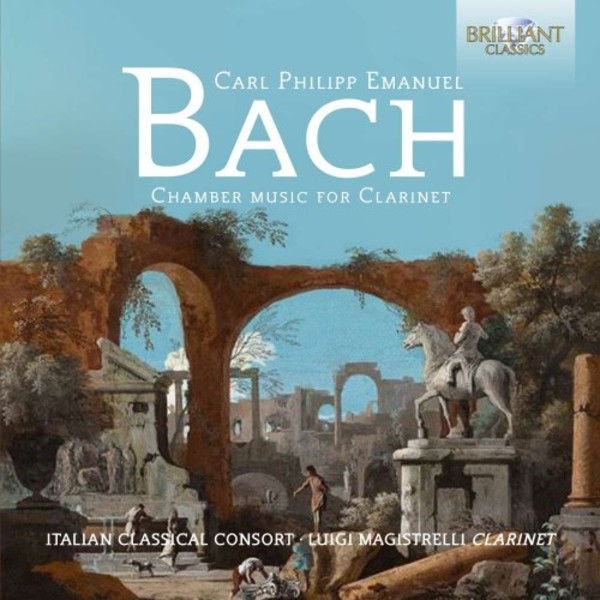 CPE Bach - Chamber Music for Clarinet | Brilliant Classics 95307