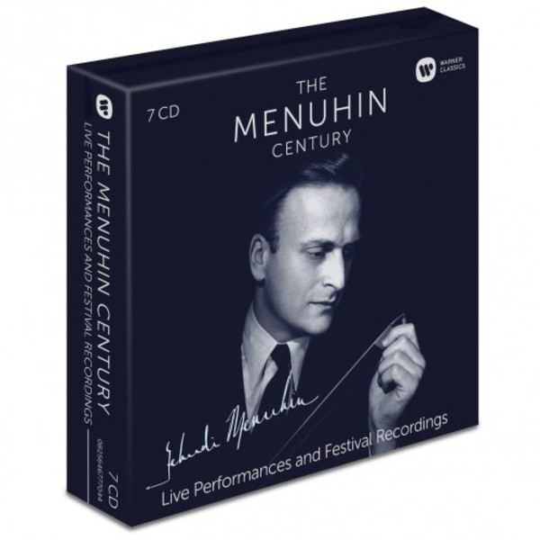 The Menuhin Century: Live Performances and Festival Recordings | Warner 2564677704