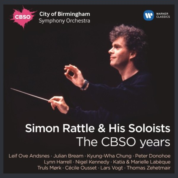 Simon Rattle & His Soloists: The CBSO Years | Warner 2564648040