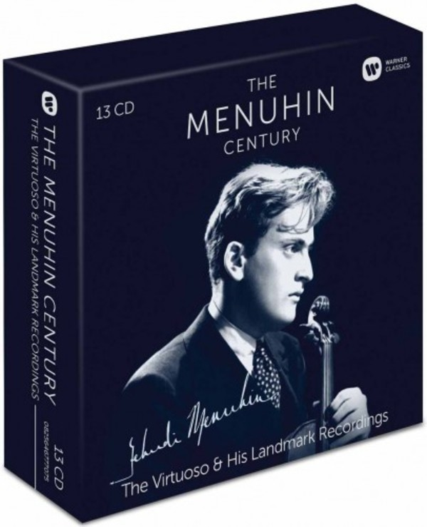 The Menuhin Century: The Virtuoso & His Landmark Recordings | Warner 2564677707