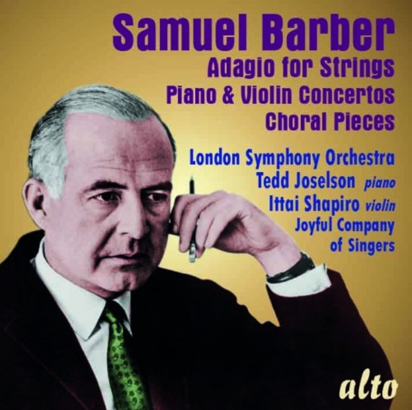 Barber - Adagio for Strings, Piano & Violin Concertos, Choral Pieces | Alto ALC1309
