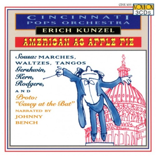 Cincinnati Pops Orchestra: American as Apple Pie | Vox Classics CD3X3035