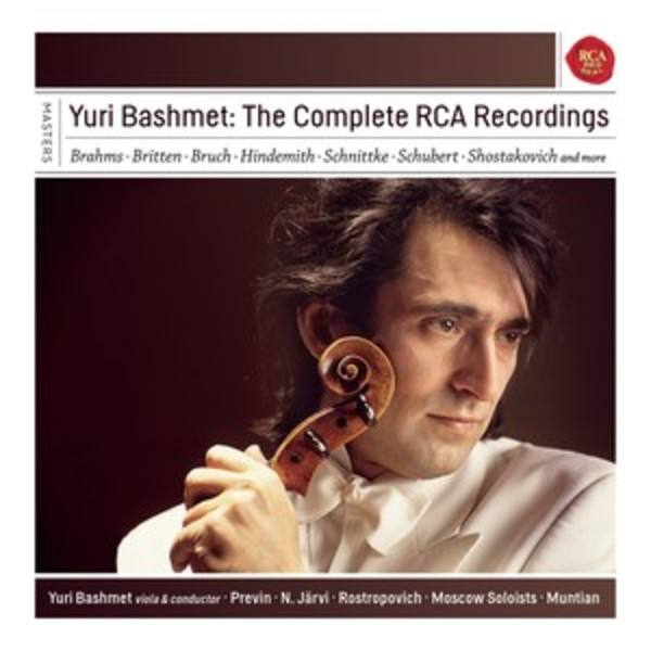 Yuri Bashmet: The Complete RCA Recordings | Sony - Classical Masters 88875168382