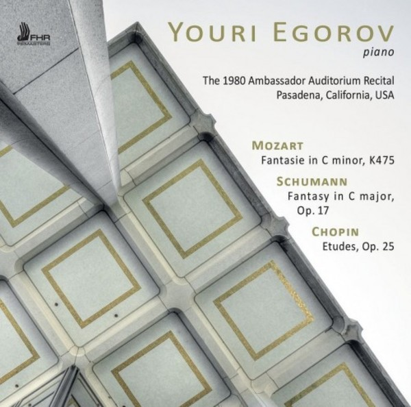 Youri Egorov: The 1980 Ambassador Auditorium Recital | First Hand Records FHR044
