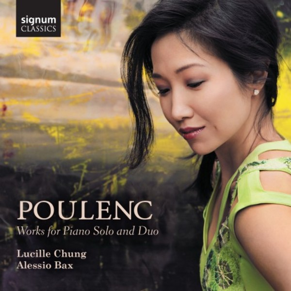 Poulenc - Works for Piano Solo & Duo | Signum SIGCD455