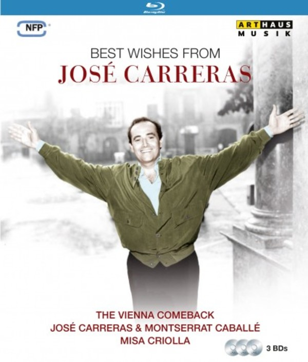 Best Wishes from Jose Carreras (Blu-ray) | Arthaus 109232