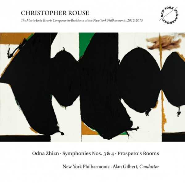 Christopher Rouse - Odna Zhizn, Symphonies 3 & 4, Prospero's Rooms | Dacapo 8226110
