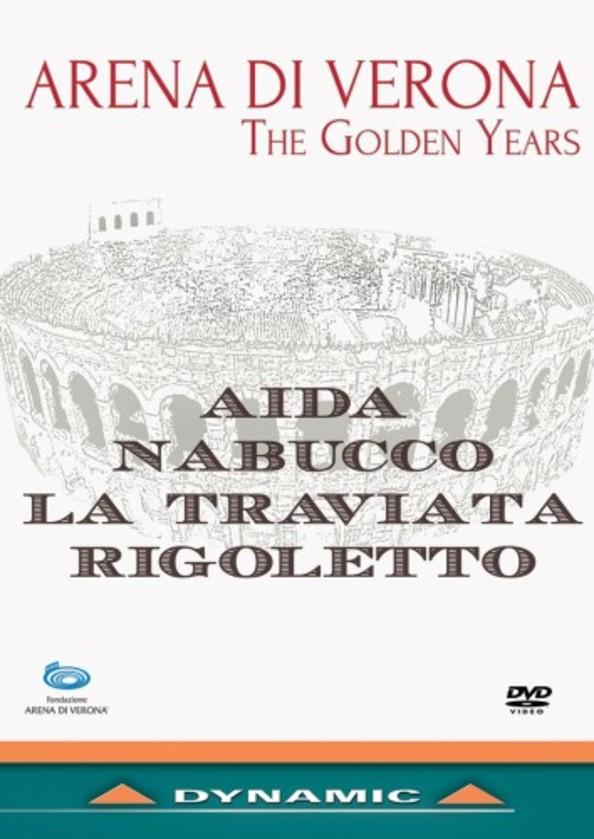 Arena di Verona: The Golden Years (DVD) | Dynamic 37732
