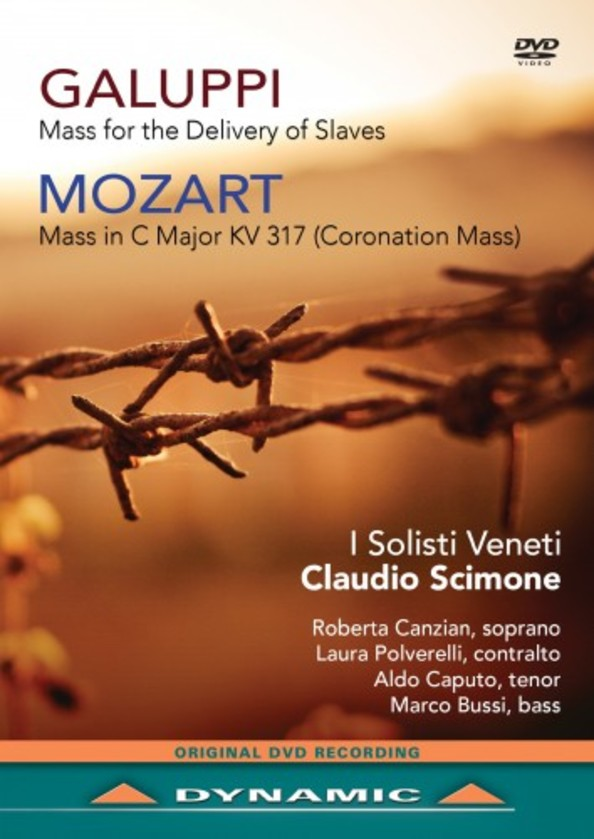 Galuppi - Mass for the Delivery of Slaves; Mozart - Coronation Mass (DVD) | Dynamic 37740