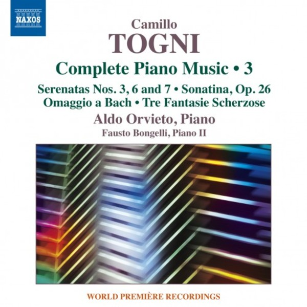 Togni - Complete Piano Music Vol.3 | Naxos 8573430