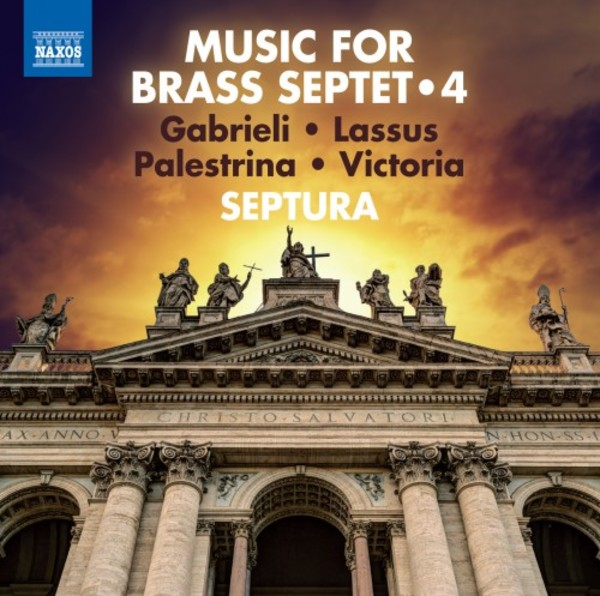Music for Brass Septet Vol.4 | Naxos 8573526