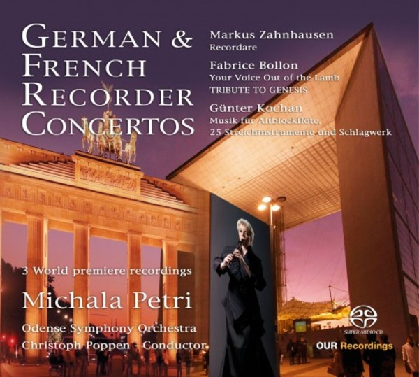 German & French Recorder Concertos | OUR Recordings 6220614