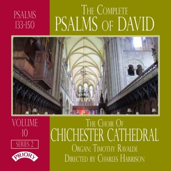 The Complete Psalms of David Vol.10 | Priory PRCD1155