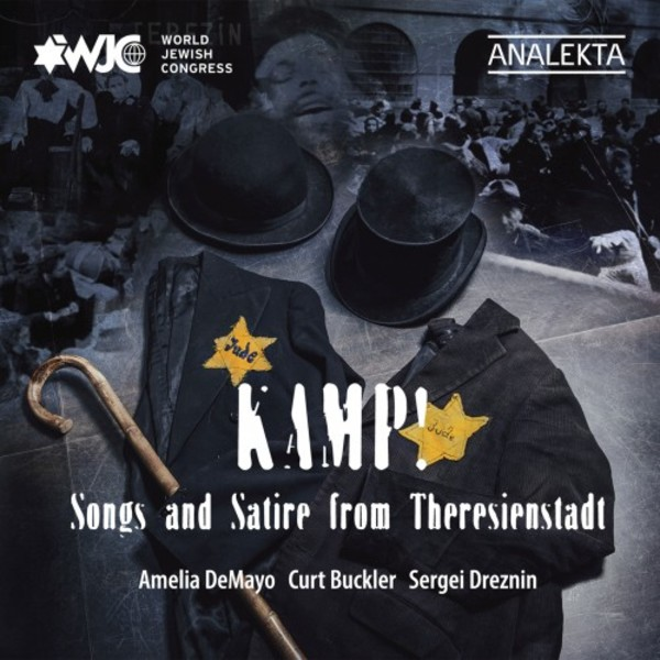 Kamp! Songs and Satire from Theresienstadt | Analekta AN28789