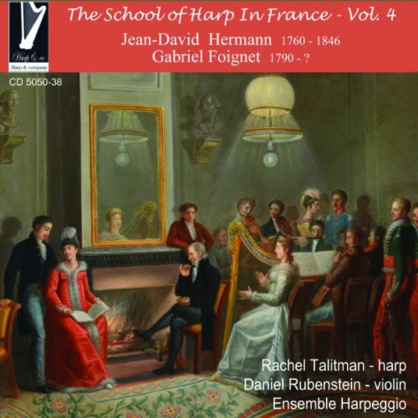The School of Harp in France Vol.4 | Harp & Co CD505038