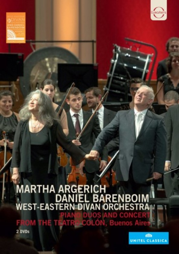 Martha Argerich & Daniel Barenboim: Piano Duos and Concert from the Teatro Colon (DVD) | Euroarts 2427281