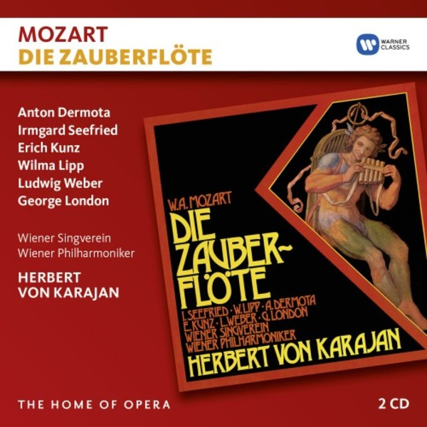 Mozart - Die Zauberflote | Warner - The Home of Opera 2564648323