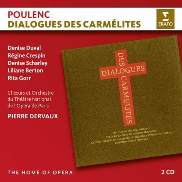 Poulenc - Dialogues des Carmelites | Erato - The Home of Opera 2564648321