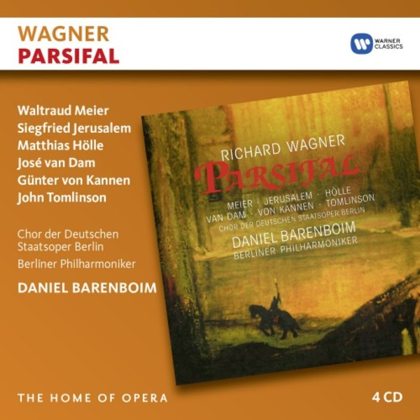 Wagner - Parsifal | Warner - The Home of Opera 2564642633