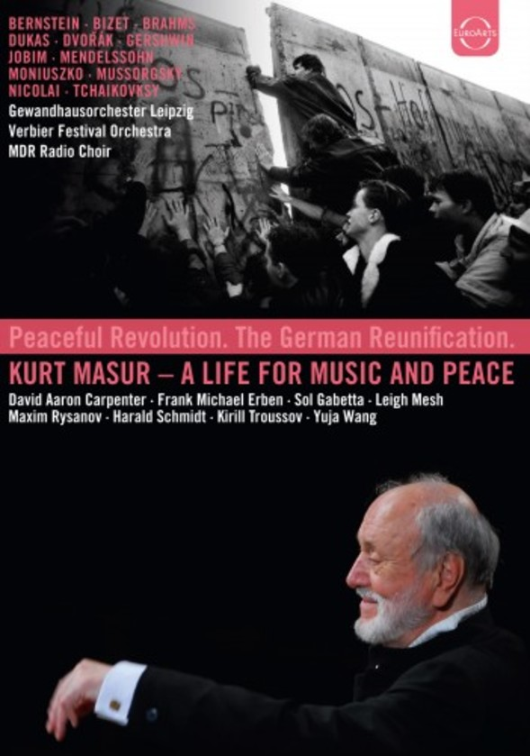Kurt Masur: A Life for Music and Peace (DVD) | Euroarts 2425053