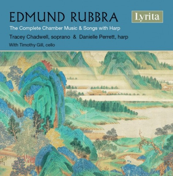Rubbra - Complete Chamber Music & Songs with Harp | Lyrita SRCD353