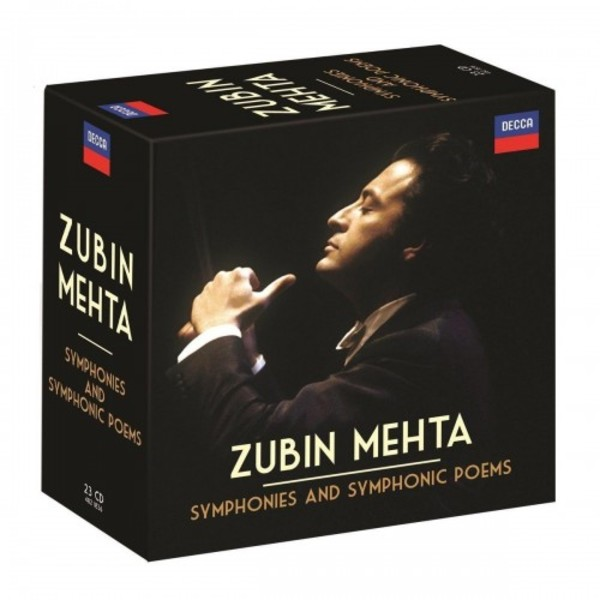 Zubin Mehta conducts Symphonies and Symphonic Poems | Decca 4821836