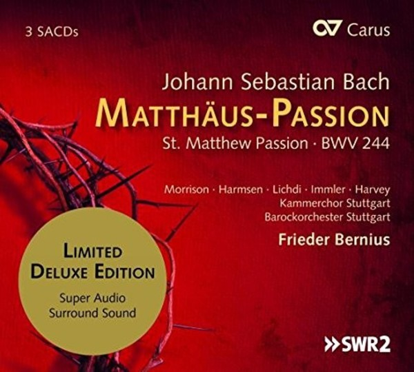 JS Bach - St Matthew Passion (SACD) | Carus CAR83286