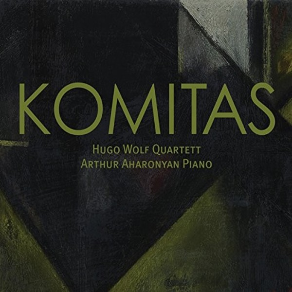Komitas - Miniatures for String Quartet, Piano Works | Megadisc MDC7875