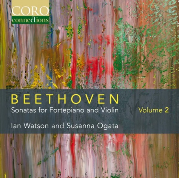 Beethoven - Sonatas for Fortepiano and Violin Vol.2 | Coro COR16143