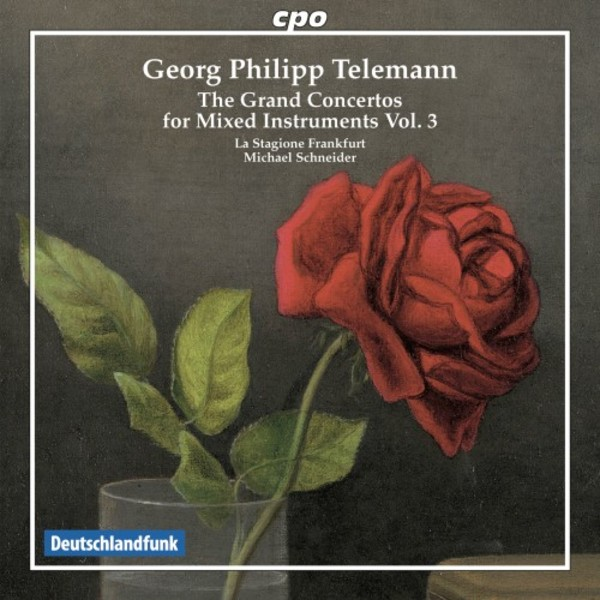 Telemann - The Grand Concertos for mixed instruments Vol.3 | CPO 7778912