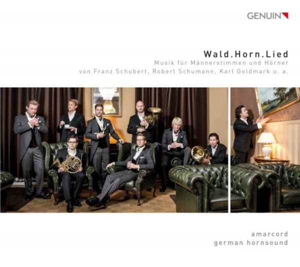 Wald.Horn.Lied: Music for Male Voices and Horns | Genuin GEN16434