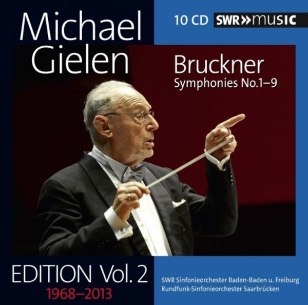 Michael Gielen Edition Vol.2: Bruckner - Symphonies 1-9 | SWR Music SWR19014CD