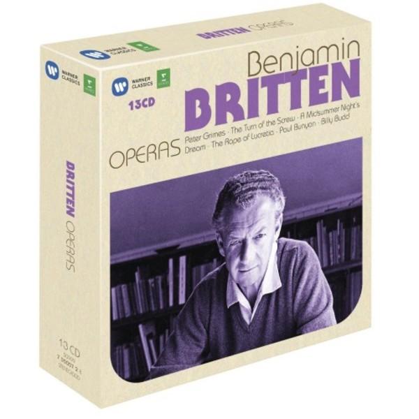 Britten - Operas | Erato 7350072