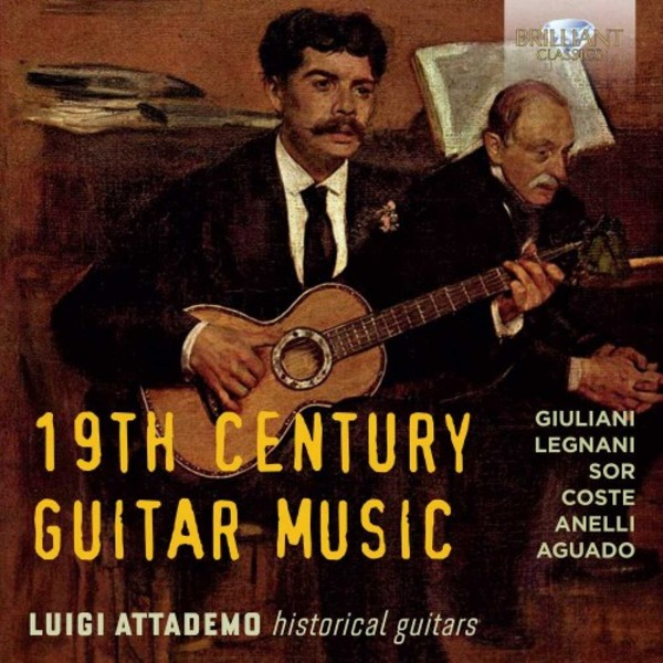 19th-Century Guitar Music | Brilliant Classics 95024BR