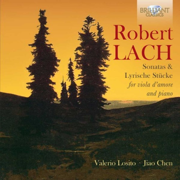 Lach - Viola d'Amore Sonatas & Lyric Pieces | Brilliant Classics 95321