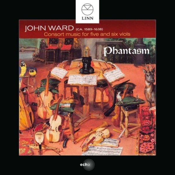 John Ward - Consort Music for 5 and 6 Viols | Linn BKD339