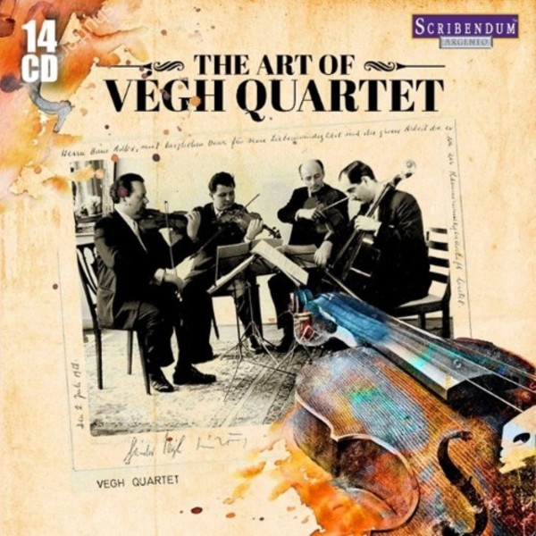 The Art of the Vegh Quartet | Scribendum SC803