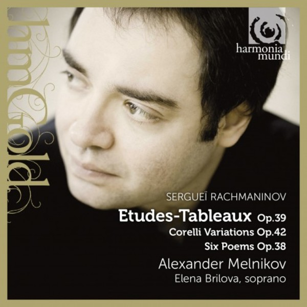 Rachmaninov - Etudes-Tableaux op.39, Corelli Variations, Six Poems op.38