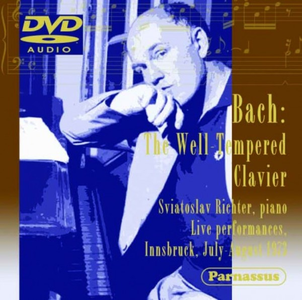 JS Bach - The Well-Tempered Clavier (DVD-Audio)