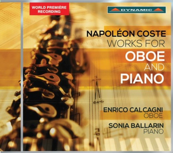 Napoleon Coste - Works for Oboe and Piano | Dynamic CDS7759
