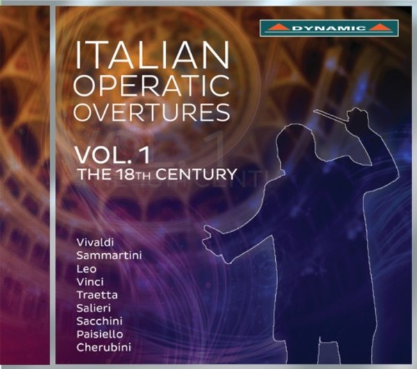 Italian Operatic Overtures Vol.1: The 18th Century | Dynamic CDS7761