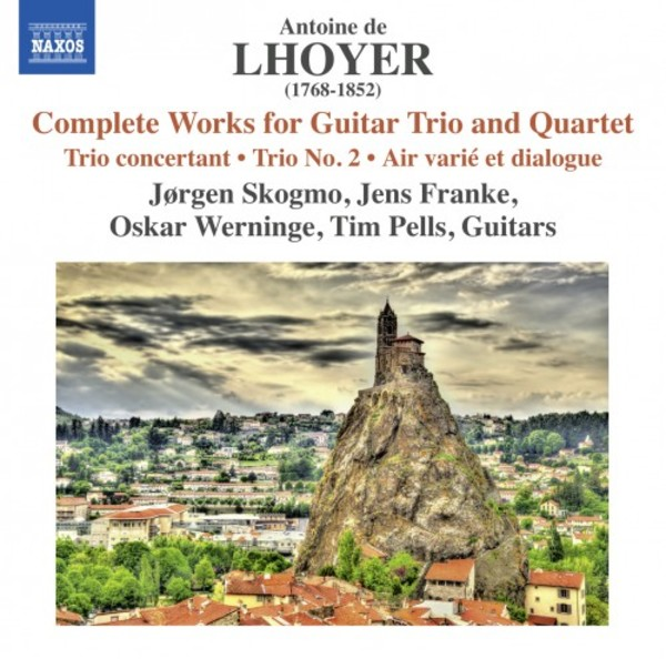 Lhoyer - Complete Works for Guitar Trio and Quartet | Naxos 8573575